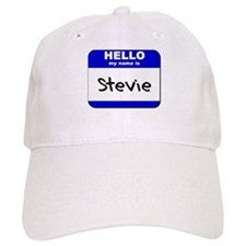 hello my name is stevie Baseball Cap