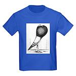 Swing Pouter Pigeon Kids Dark T-Shirt
