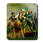 Spirit '76 - Airedale #6 Mousepad