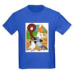 Five Pigeons Kids Dark T-Shirt