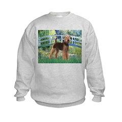 Bridge - Airedale #6 Kids Sweatshirt