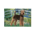 Bridge - Airedale #6 Rectangle Magnet