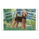 Bridge - Airedale #6 Sticker (Rectangle)