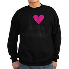 I Love Misha Collins (Pink Heart Jumper Sweater