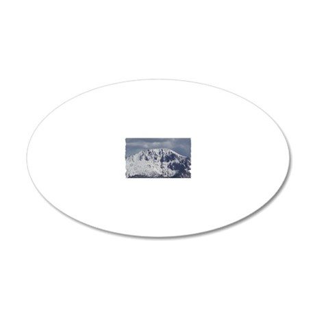 Pikes Pike 20x12 Oval Wall Decal