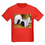 Saddle Fantails Kids Dark T-Shirt