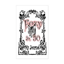 Foxy at 50 JRNL Decal