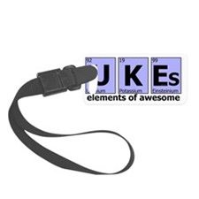 UKEs - Elements of Awesome (blue Luggage Tag
