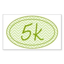 5k Green Chevron Decal
