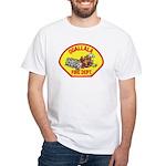 Ogallala Fire Dept White T-Shirt