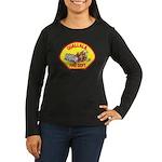Ogallala Fire Dept Women's Long Sleeve Dark T-Shir