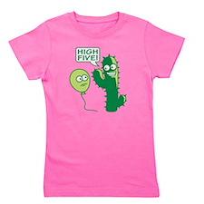 cactus_high_five Girl's Tee