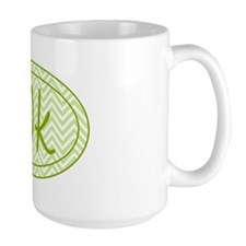 10k Green Chevron Mug