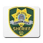 Carson City Sheriff Mousepad