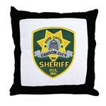 Carson City Sheriff Throw Pillow