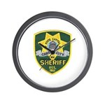 Carson City Sheriff Wall Clock