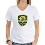 Carson City Sheriff Women's V-Neck T-Shirt