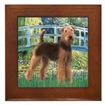 Bridge - Airedale #6 Framed Tile