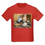 Domestic Flight Pigeons Kids Dark T-Shirt