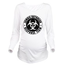 Zombie Outbreak Resp Long Sleeve Maternity T-Shirt