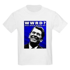 """What Would Reagan Do?"" Kids T-Shirt"