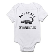 All-State Gator Wrestling Infant Bodysuit