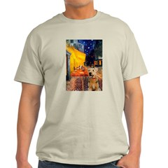 Cafe - Airedale (S) Light T-Shirt
