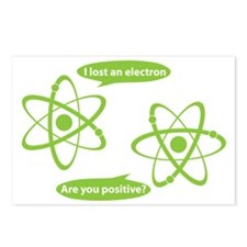 I lost and electron. Are  Postcards (Package of 8)