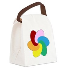Swinger Heaven Spiral  Canvas Lunch Bag