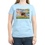 Lilies#2 - Airedale #6 Women's Light T-Shirt
