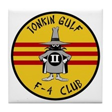 Tonkin Gulf F-4 Club Tile Coaster