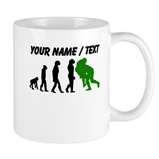 Custom Rugby Tackle Evolution (Green) Mugs