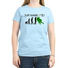 Custom Rugby Tackle Evolution (Green) T-Shirt