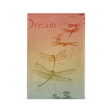 Dream Dragonflies Rectangle Magnet