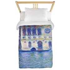 Monet Palazzo-Dario Painting Shower Cur Twin Duvet