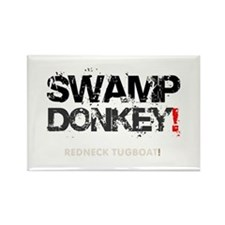 SWAMP DONKEY - REDNECK TUGBOAT! V Rectangle Magnet