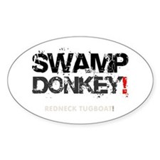 SWAMP DONKEY - REDNECK TUGBOAT! V Decal