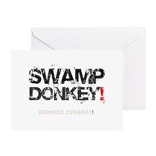 SWAMP DONKEY - REDNECK TUGBOAT! V Greeting Card