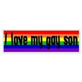 """Gay Son"" Bumper Bumper Sticker"