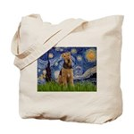 Starry - Airedale #1 Tote Bag