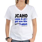 JCAHO Came Women's V-Neck T-Shirt