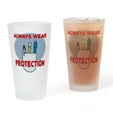 Pocket Protector Drinking Glass