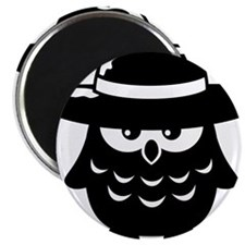 owl_with_hat Magnet
