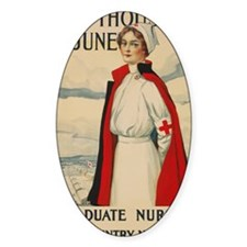 USA military Nurse country needs yo Decal