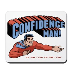 confidence-man2-LTT Mousepad