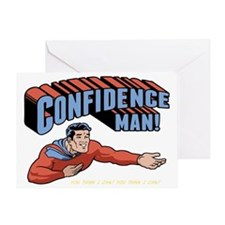 confidence-man2-DKT Greeting Card