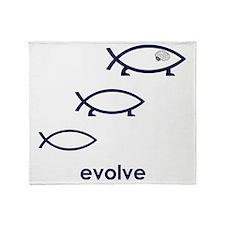Evolve Throw Blanket