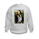MonaLis-AussieCattleDog Kids Sweatshirt