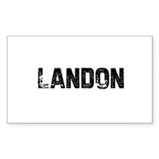Landon Rectangle Decal