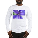 Lavender Iris Long Sleeve T-Shirt